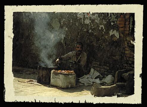 Cooking Doughnuts, Kathmandu, Nepal, 2000.