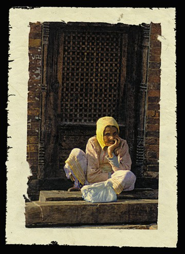 Watching, Kathmandu, Nepal, 2000.