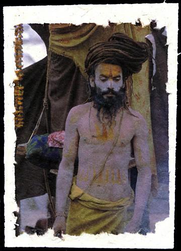 The Standing Sadhu, Kathmandu, Nepal, 2001.