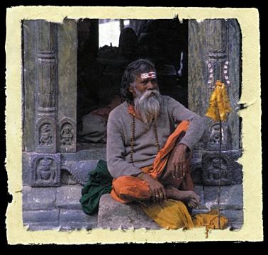 Sadhu at Shivaratri, Kathmandu, Nepal, 2001.
