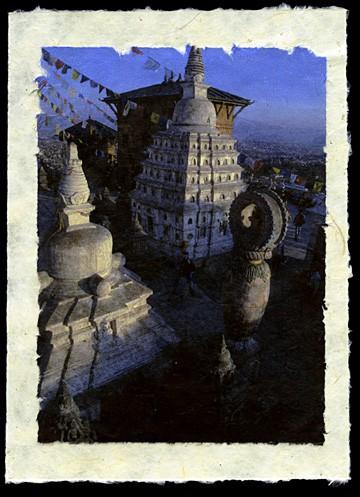 Swyambhunath, Kathmandu, Nepal, 2001.