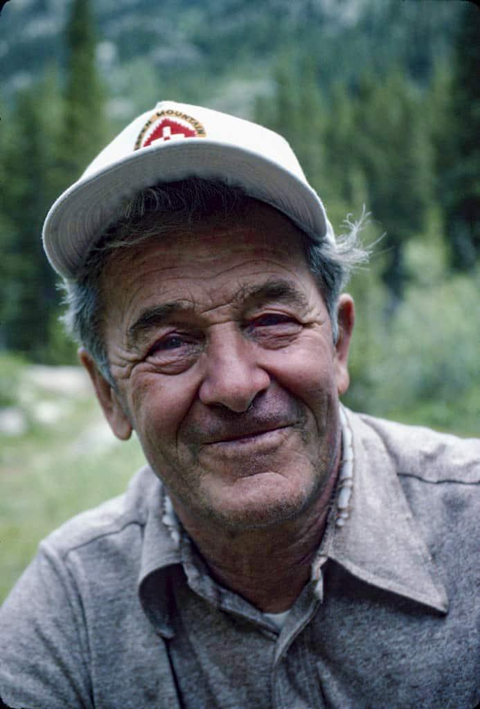 Climbing legend Harvey T. Carter, courtesy of Cameron M. Burns.