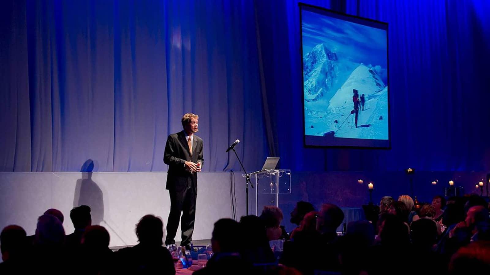 Jake Speaking at WFP